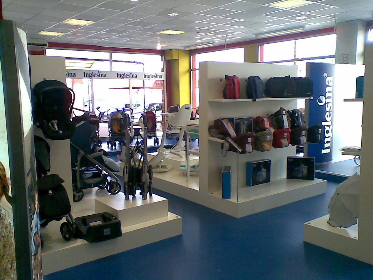 Shop in Shop Inglesina